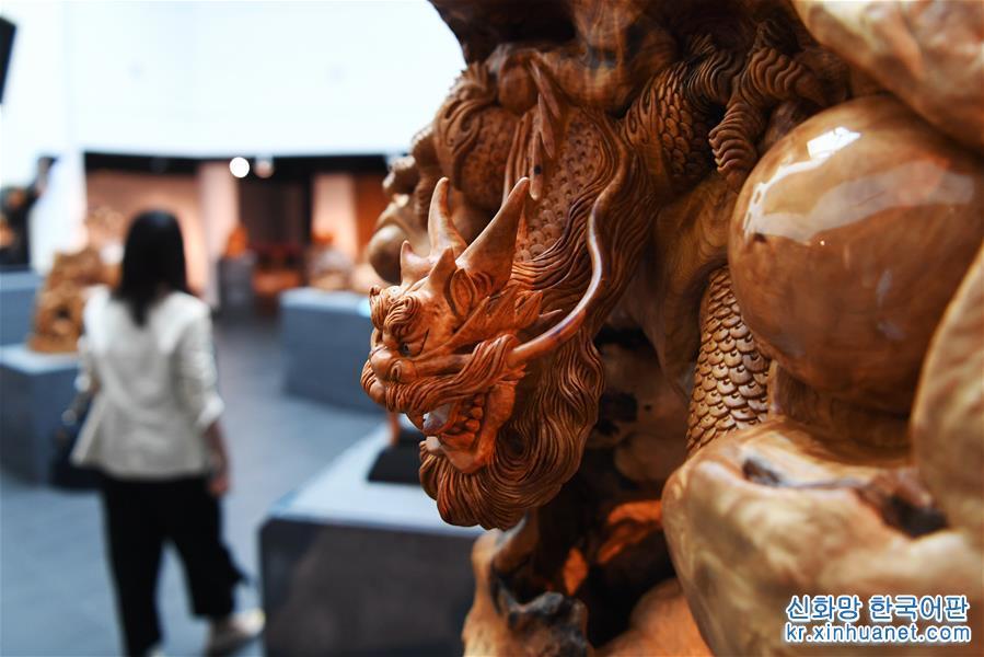 (文化)(1)臺灣舉辦木雕藝術聯展