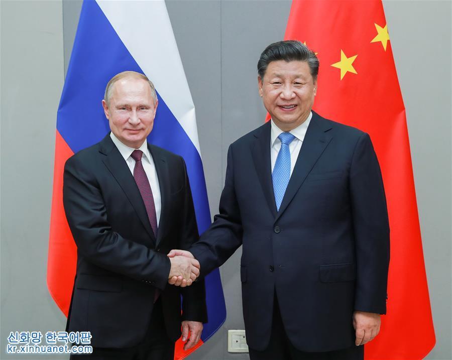 (時政)習近平會見俄羅斯總統普京