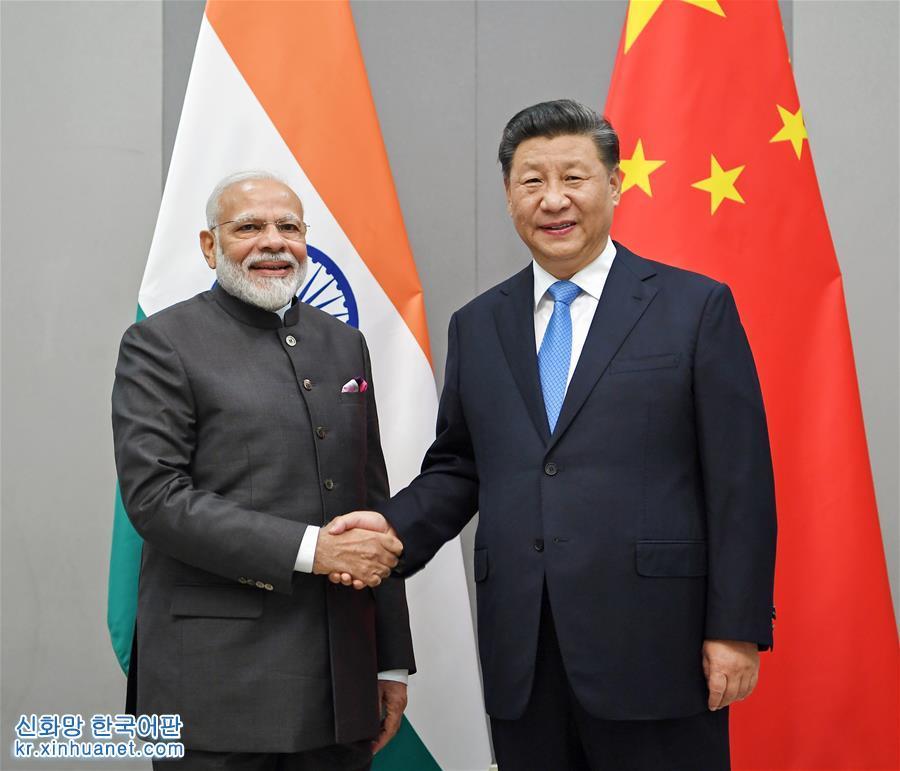 (時政)習近平會見印度總理莫迪