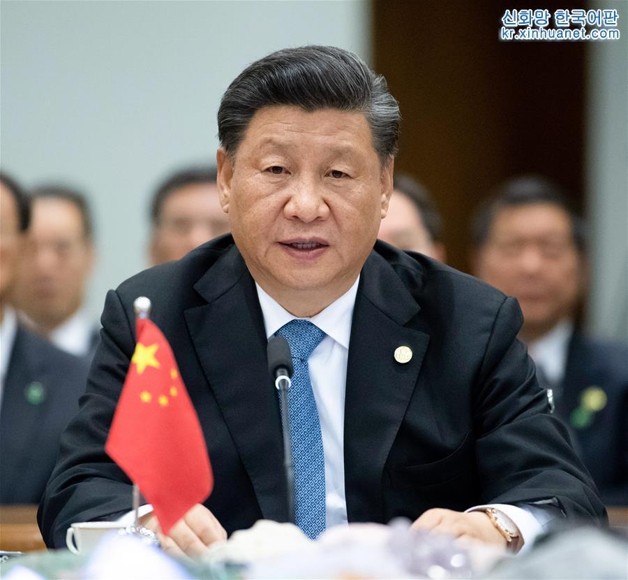 (時政)(1)習近平出席金磚國家領導人第十一次會晤並發表重要講話