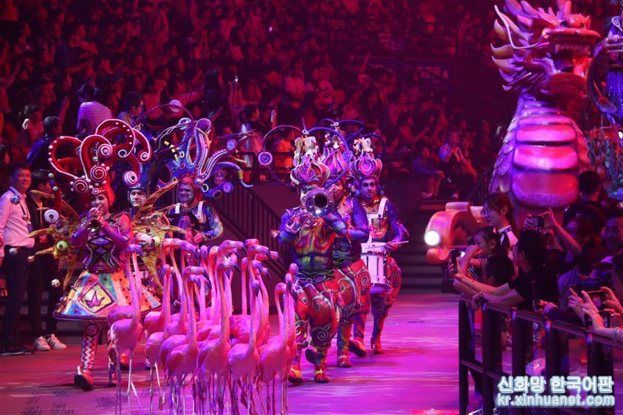 (社會)(1)第六屆中國國際馬戲節在廣東珠海開幕