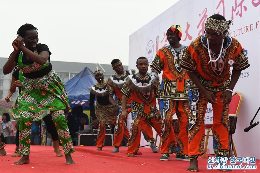 (教育)(1)安徽:校園裏的國際文化節