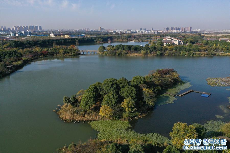 (美麗中國)(1)江蘇昆山:濕地公園美