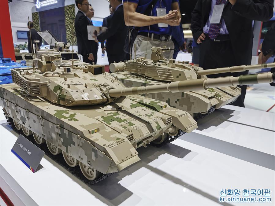 """(國際)(1)""""中國軍工""""亮相2019年泰國國際防務展"""
