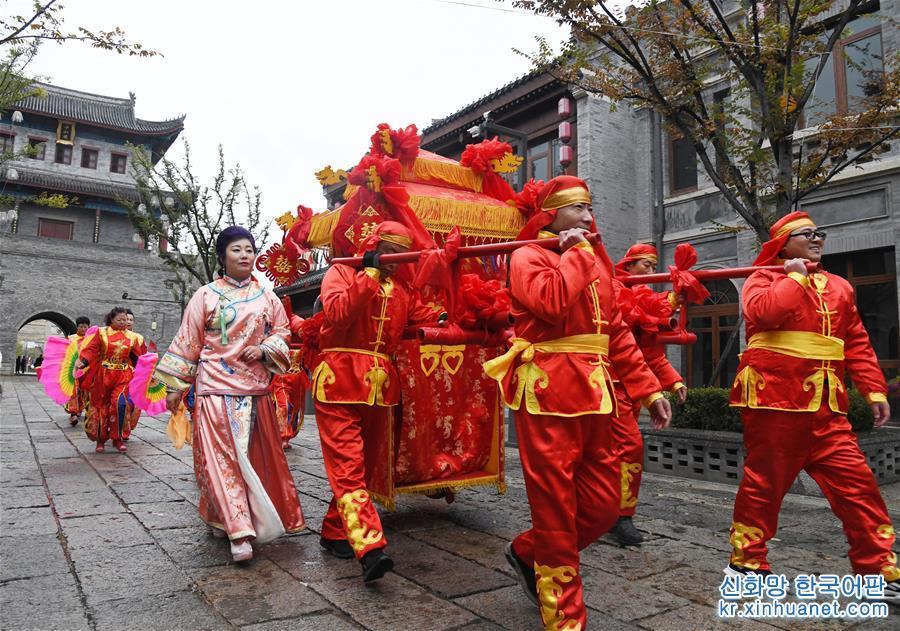 (社會)(1)中式婚禮 緣定古城