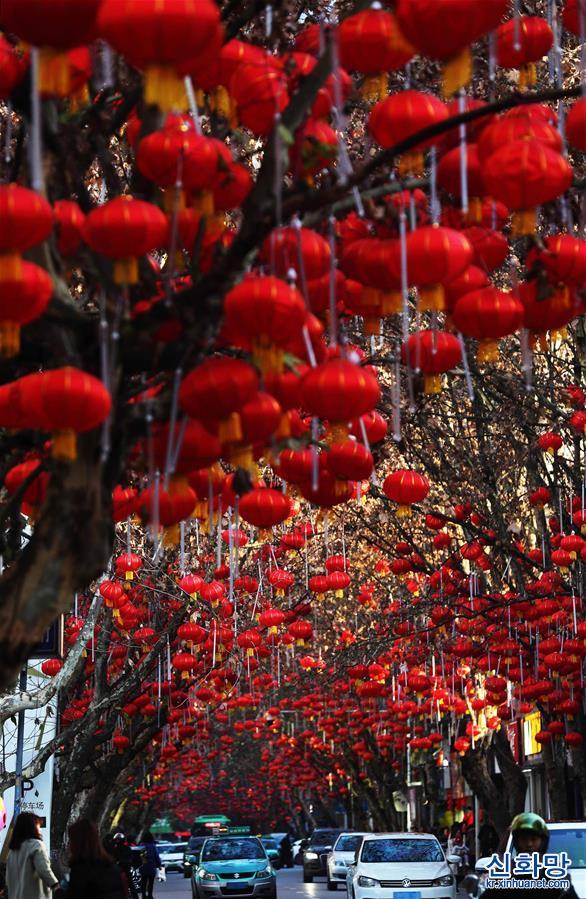 #(視·覺)(1)重慶黔江:滿街燈籠迎新春