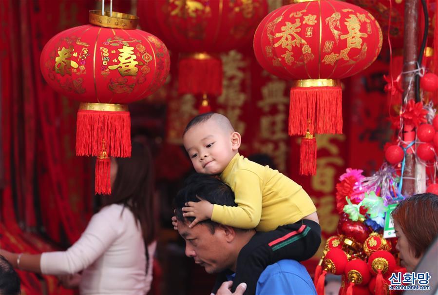 (社會)(1)紅火飾品迎新春