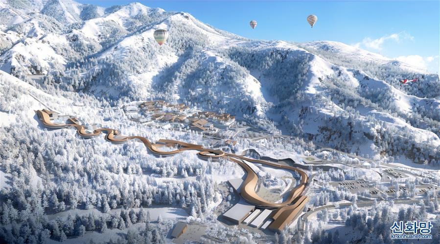 (體育)(2)我國首條雪車雪橇賽道開始制冰