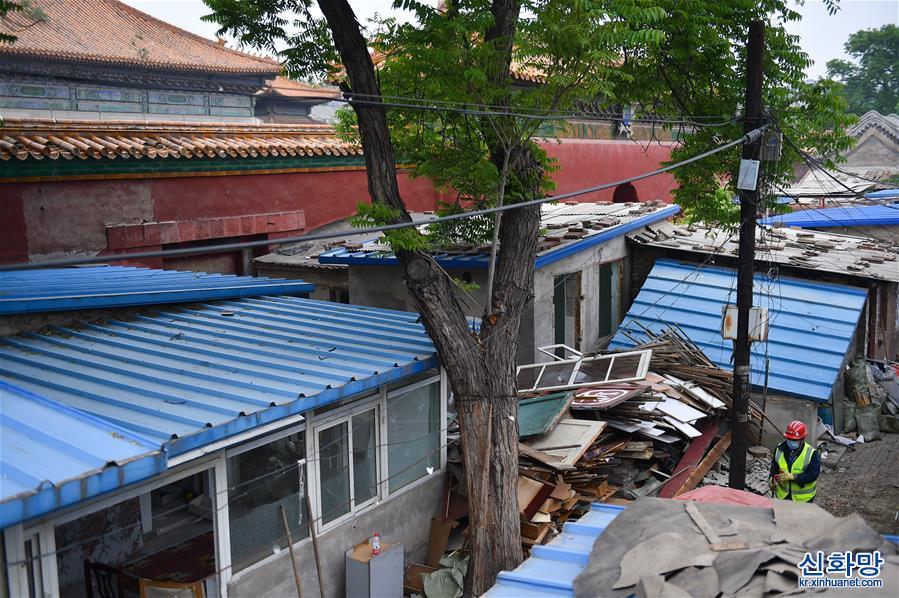 (文化)(1)北京:皇史宬拆違啟動 古建風貌將恢復