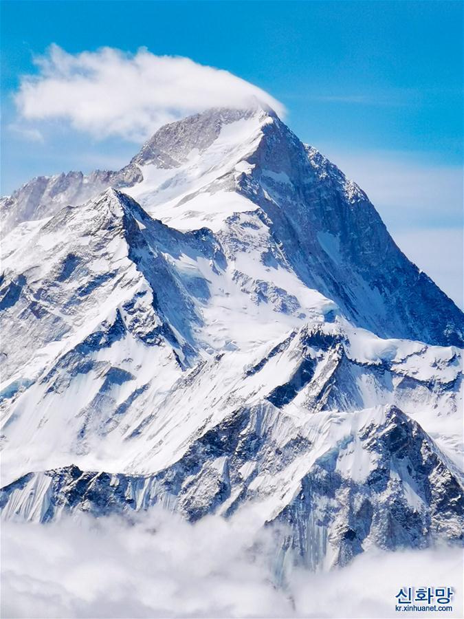 (2020珠峰高程測量)(6)海拔7000米以上的壯美景色