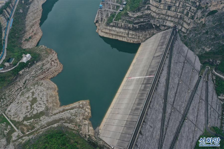(新華視界)(2)俯瞰貴州洪家渡水電站