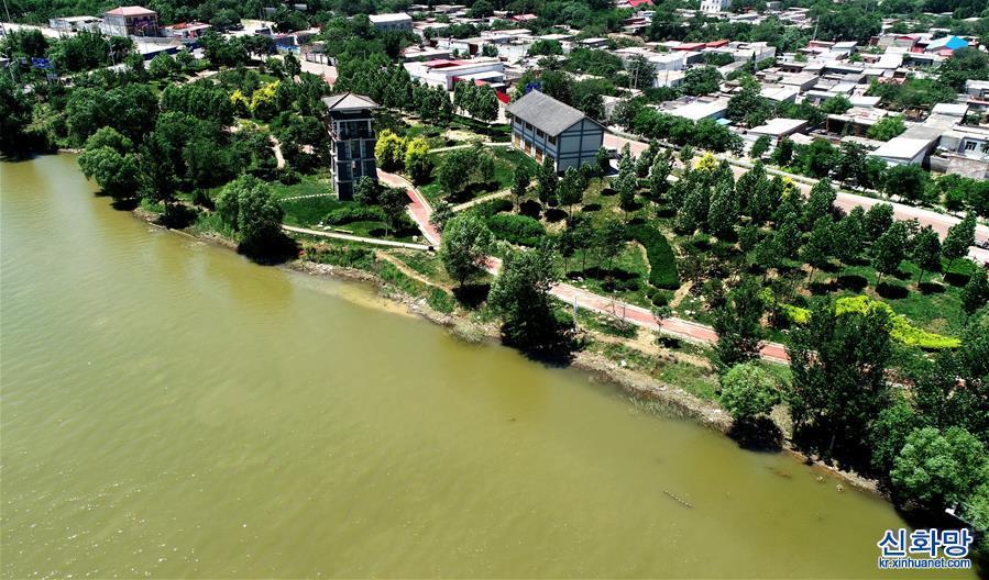 (環境)(1)河北巨鹿:閒置河灘地變身生態遊園