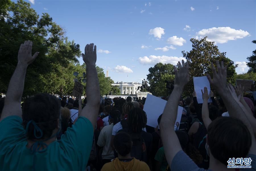 (國際)(1)華盛頓民眾抗議警察暴力執法