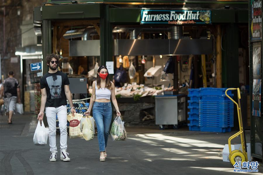 (國際疫情·新華視界)(1)英國:千年伯勒市場重開