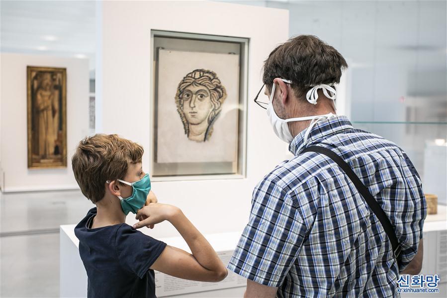 (國際疫情)(1)法國進入解禁第二階段 博物館逐步向公眾開放