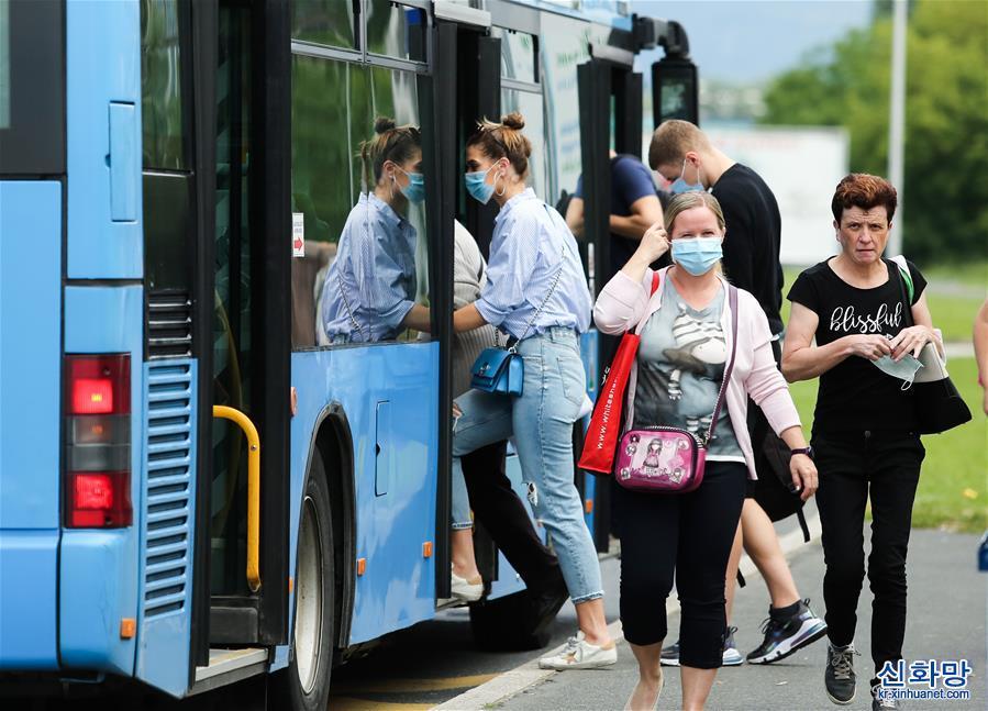 (国际疫情)(1)克罗地亚:乘坐公交 必戴口罩