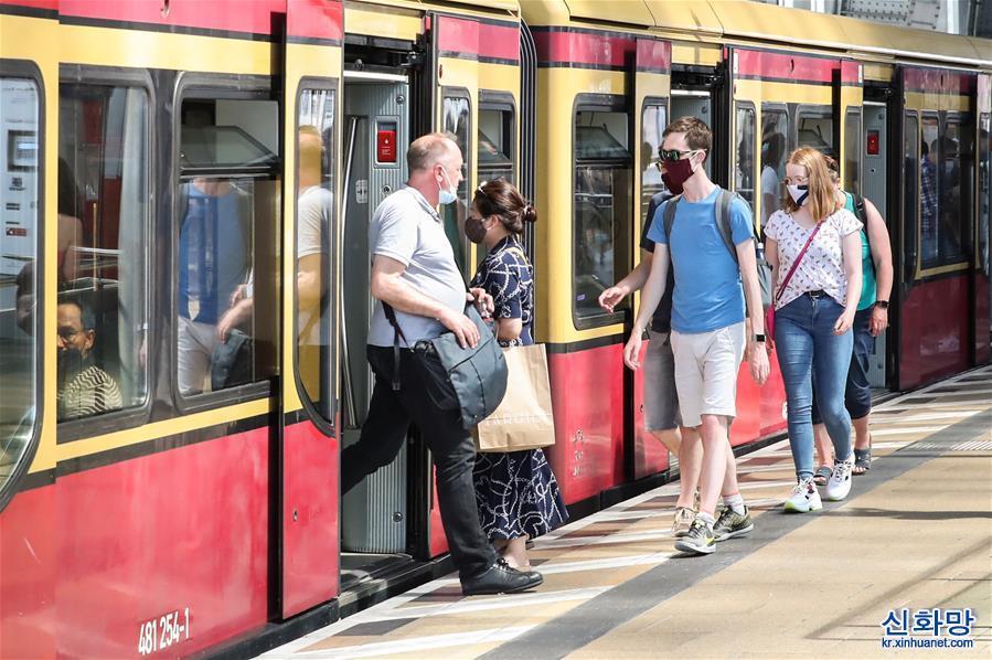 (國際)(1)德國柏林解除社交限制措施