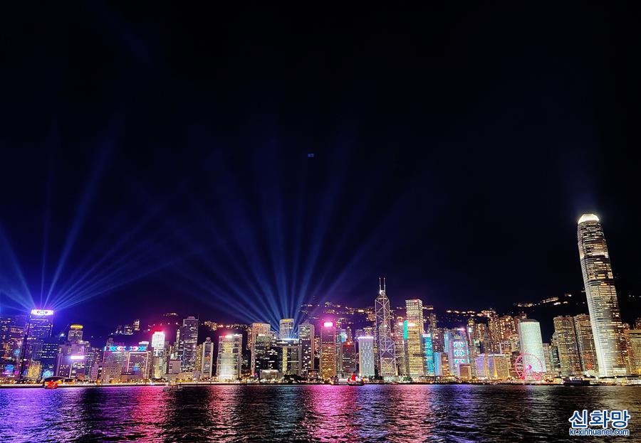 (港澳臺·圖文互動)(1)特稿:回歸祖國廿三年 香港凝心聚力再出發