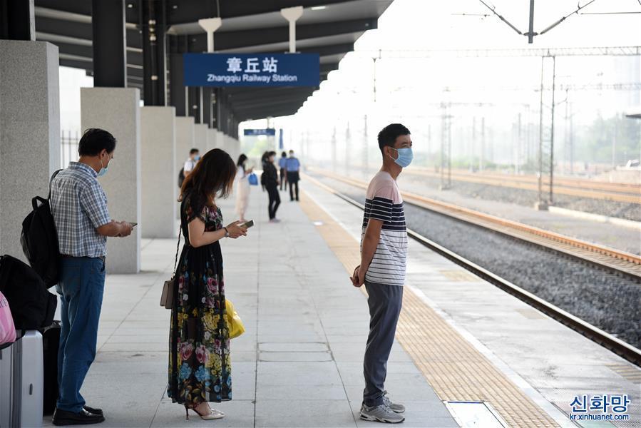 (社會)(1)2020年鐵路暑運拉開帷幕