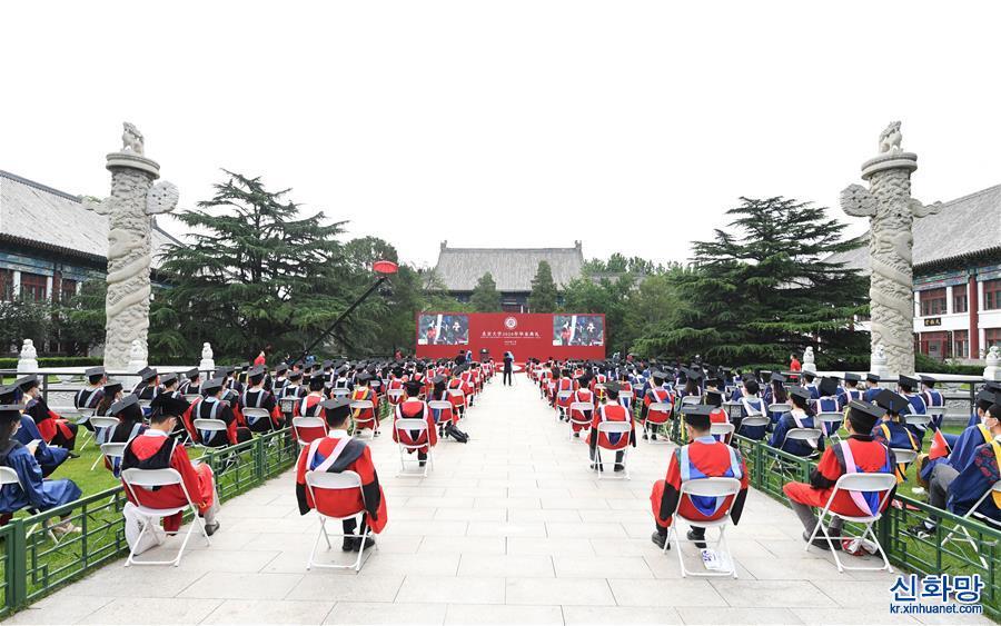 (教育)(1)北京大學舉行2020年畢業典禮