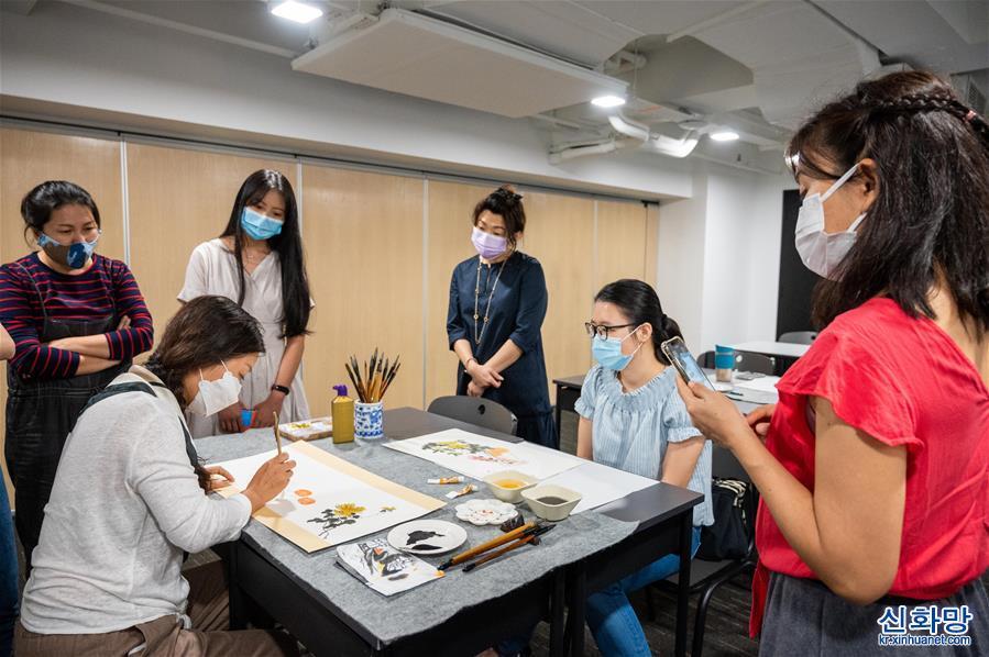 (國際·圖文互動)(4)吉隆坡中國文化中心疫情期間多種形式促中馬交流