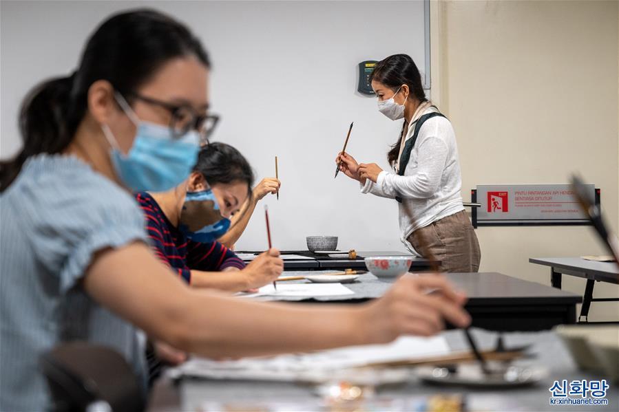 (國際·圖文互動)(5)吉隆坡中國文化中心疫情期間多種形式促中馬交流
