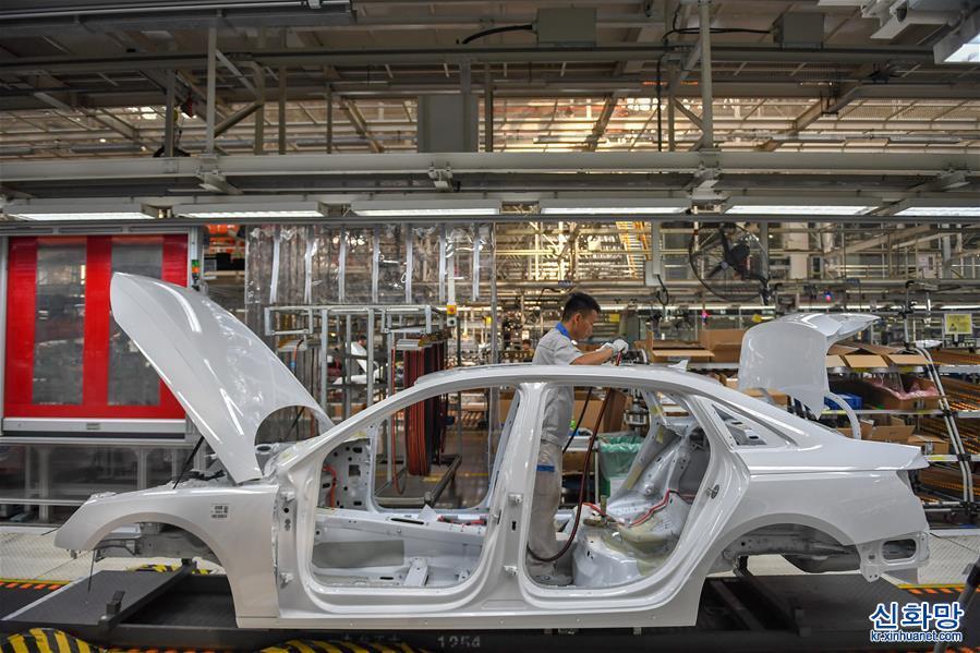 (經濟)(1)一汽集團8月銷售整車31.4萬輛 同比增長14%