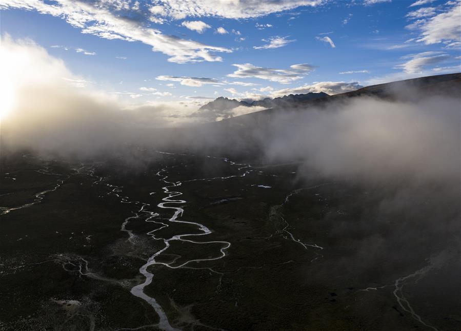(新華視界)(1)西藏:邦達草原的清晨