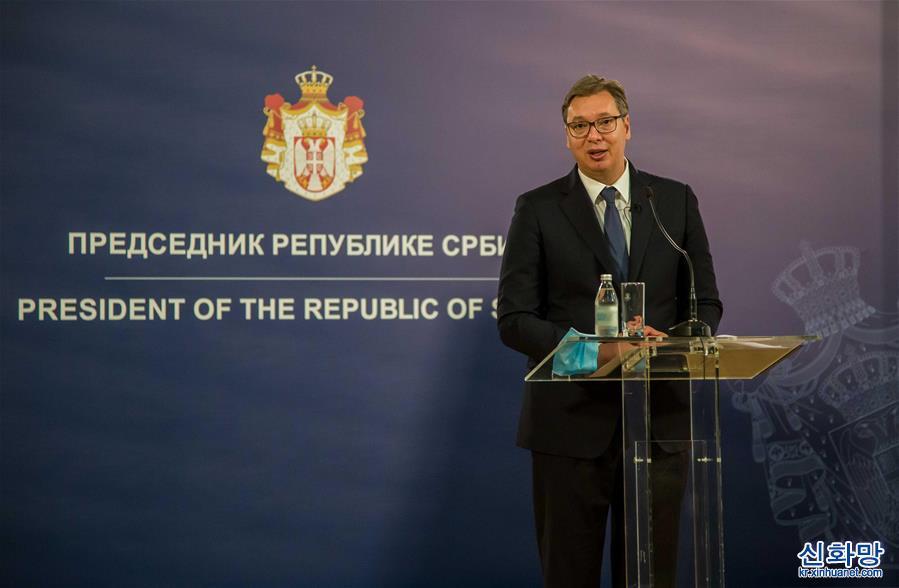 (國際·圖文互動)(1)中企簽約塞爾維亞快速路項目