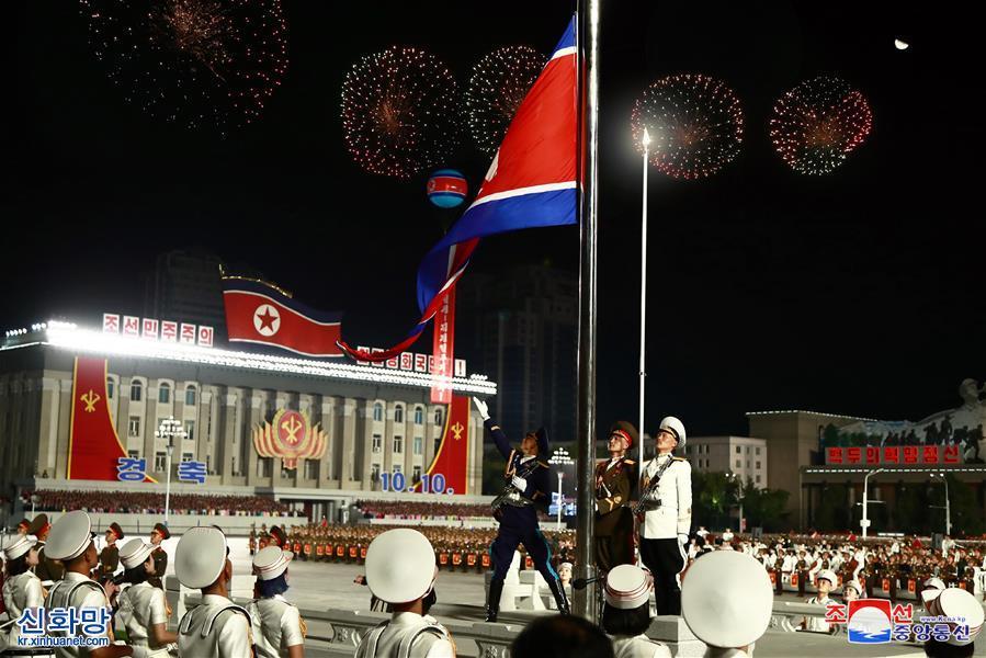 (國際)(1)朝鮮舉行閱兵式慶祝勞動黨建黨75周年