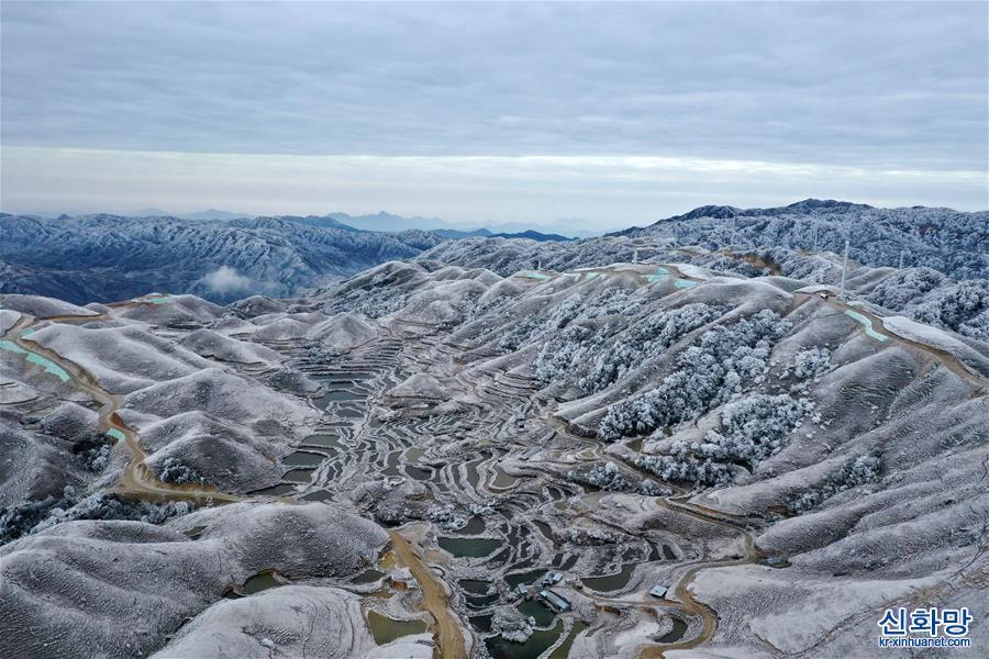 (美丽中国)(1)冰雪苗山别样美