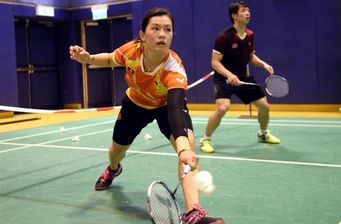 배드민턴——중국 홍콩 베드민턴 팀 리우 올림픽 출전
