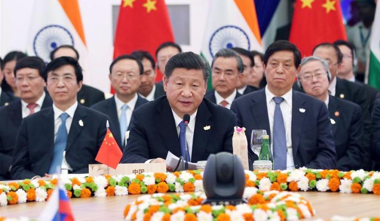 시진핑 주석, 제8차 브릭스 정상회의 참석