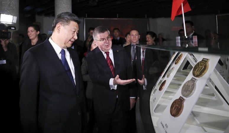 시진핑 주석, 토마스 바흐 국제올림픽위원회 위원장 회견