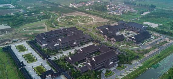 드론 촬영, 타이저우 중약 양생 마을