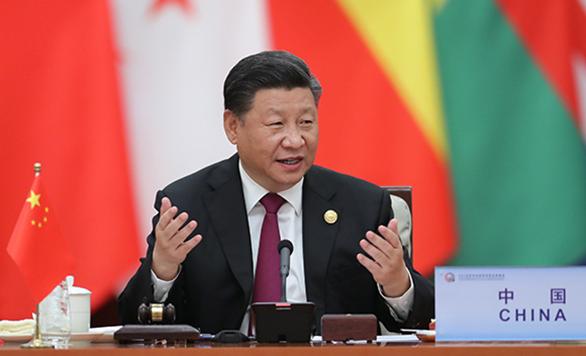 중국-아프리카 협력포럼 베이징 정상회의 원탁회의 개최