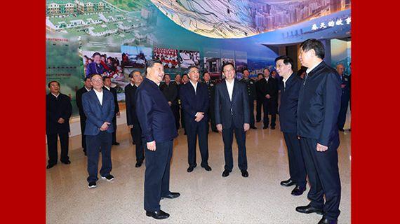시진핑 등 당과 국가 지도자들 '위대한 변혁—개혁개방 40주년 경축 대형 전시회' 참관
