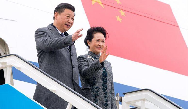 시진핑 中 국가주석, 리스본에 도착해 포르투갈공화국에 대한 국빈방문 시작