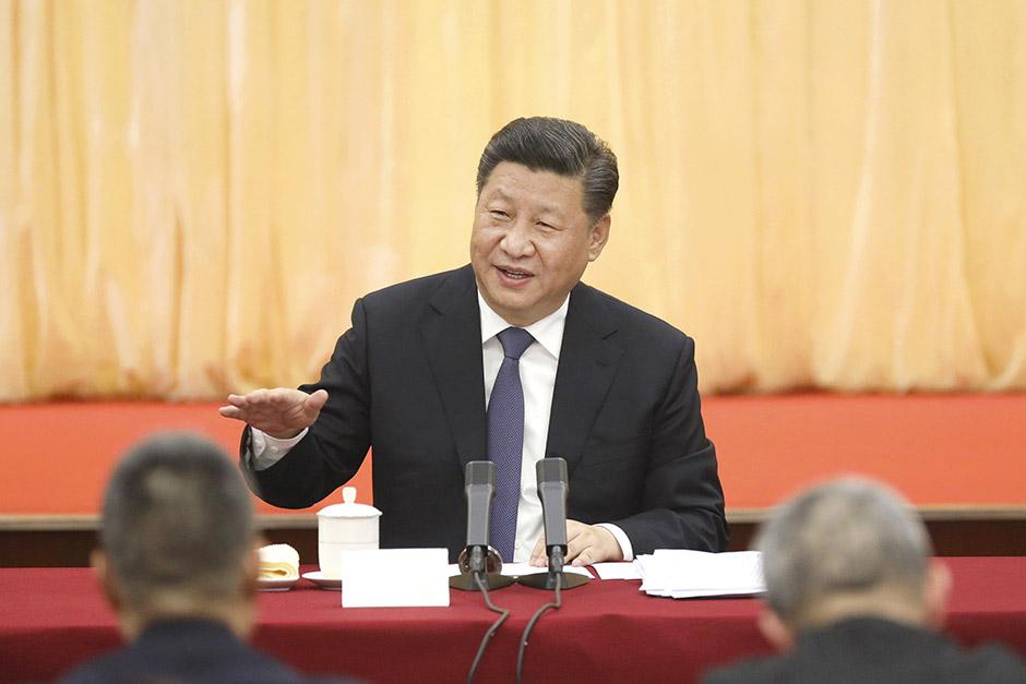 시진핑, 정협회의 참석 문예·사회과학 분야 위원 위문