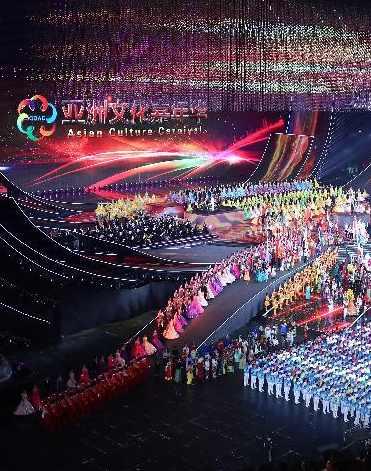 (아시아문명대화대회) 아시아 문화 카니발 베이징서 거행