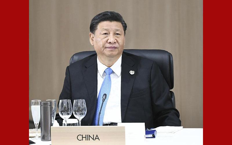 시진핑 中 주석, 제14차 G20 정상회의 참석 및 중요한 연설