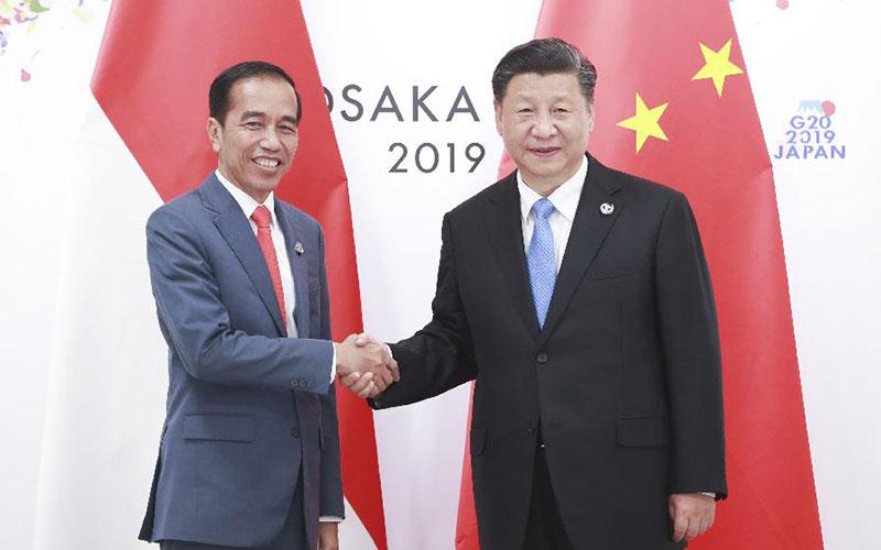 시진핑 中 국가주석, 조코 인도네시아 대통령 회견