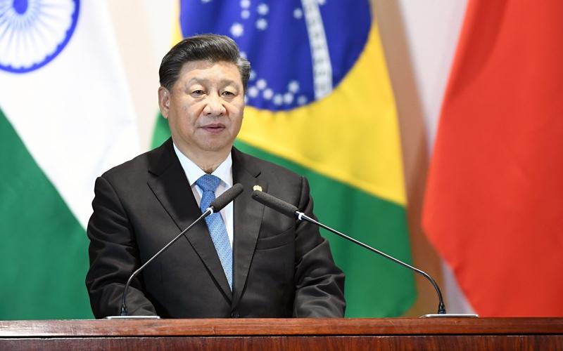 시진핑 中 국가주석, 브릭스 정상과 브릭스공상이사회 및 신개발은행 대화회의에 참석
