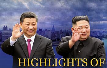 [도표] 시진핑·김정은 회담, 무슨 대화 나눴나?