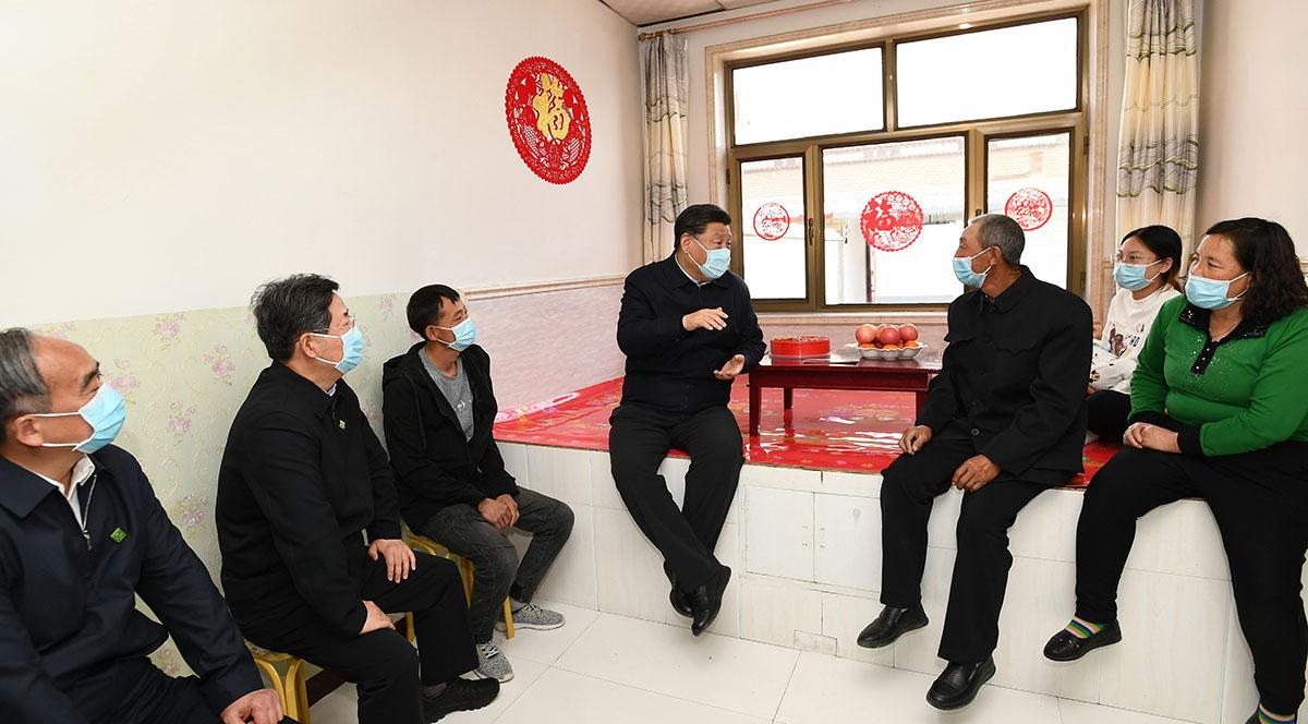 시진핑, 산시 시찰