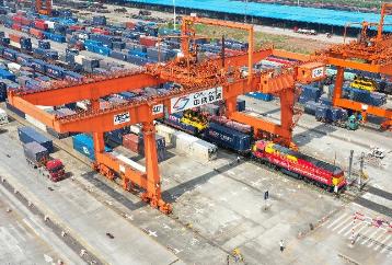 청두: 중국-유럽 화물열차 운행 횟수 전년 동기 대비 63% 증가