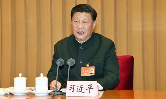 시진핑, 중앙군사위원회 군사훈련회의에 참석해 중요 연설