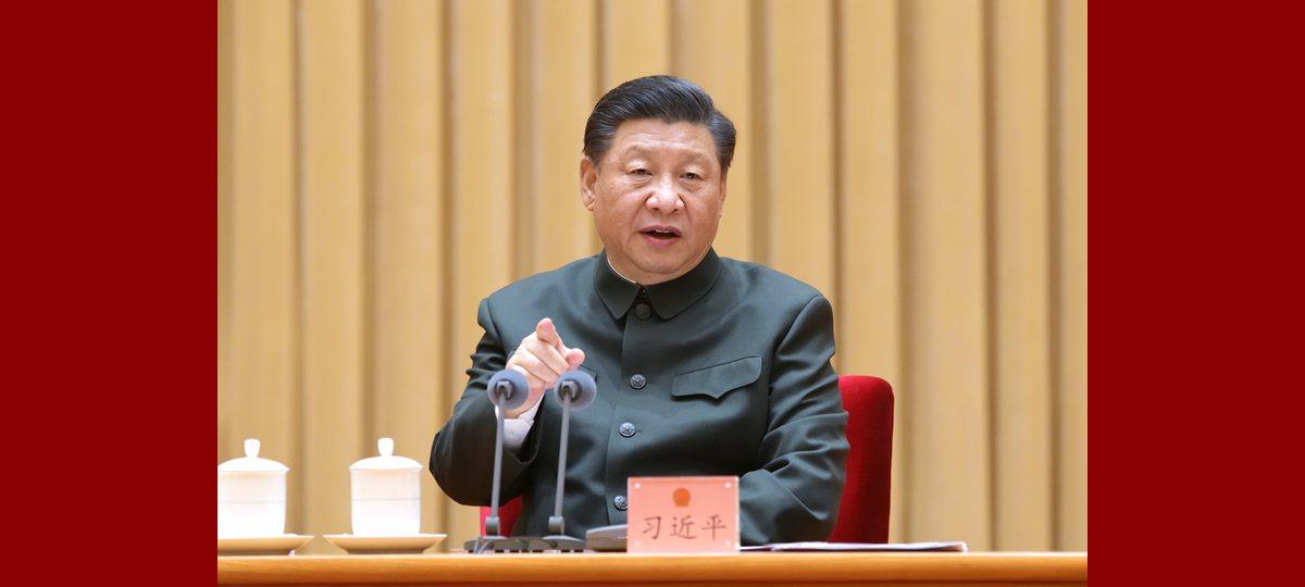 시진핑 해방군 및 무장경찰부대 대표단 전체회의 참석