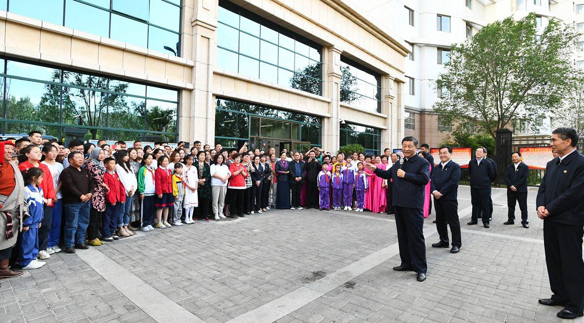 시진핑, 칭하이 시찰