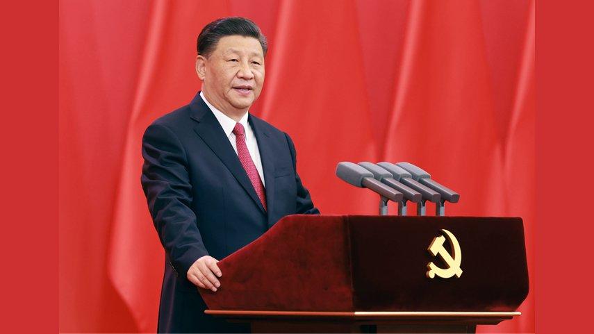 중국공산당 창당 100주년을 경축하는 '7.1 훈장' 수여식이 베이징서 성대하게 개최